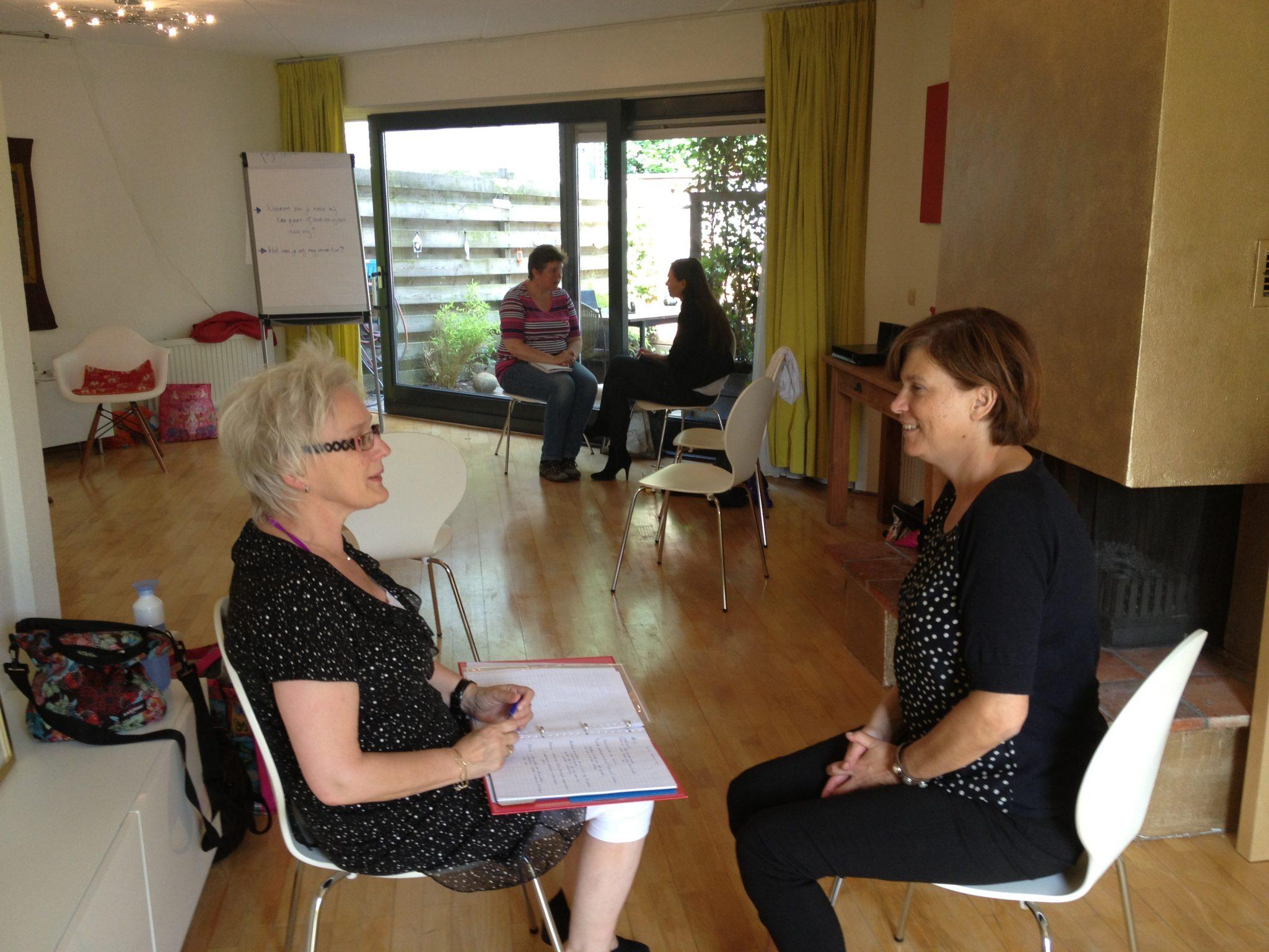 Coaches afgestudeerd Opleiding Mindfulness en Compassie Coach en Trainer