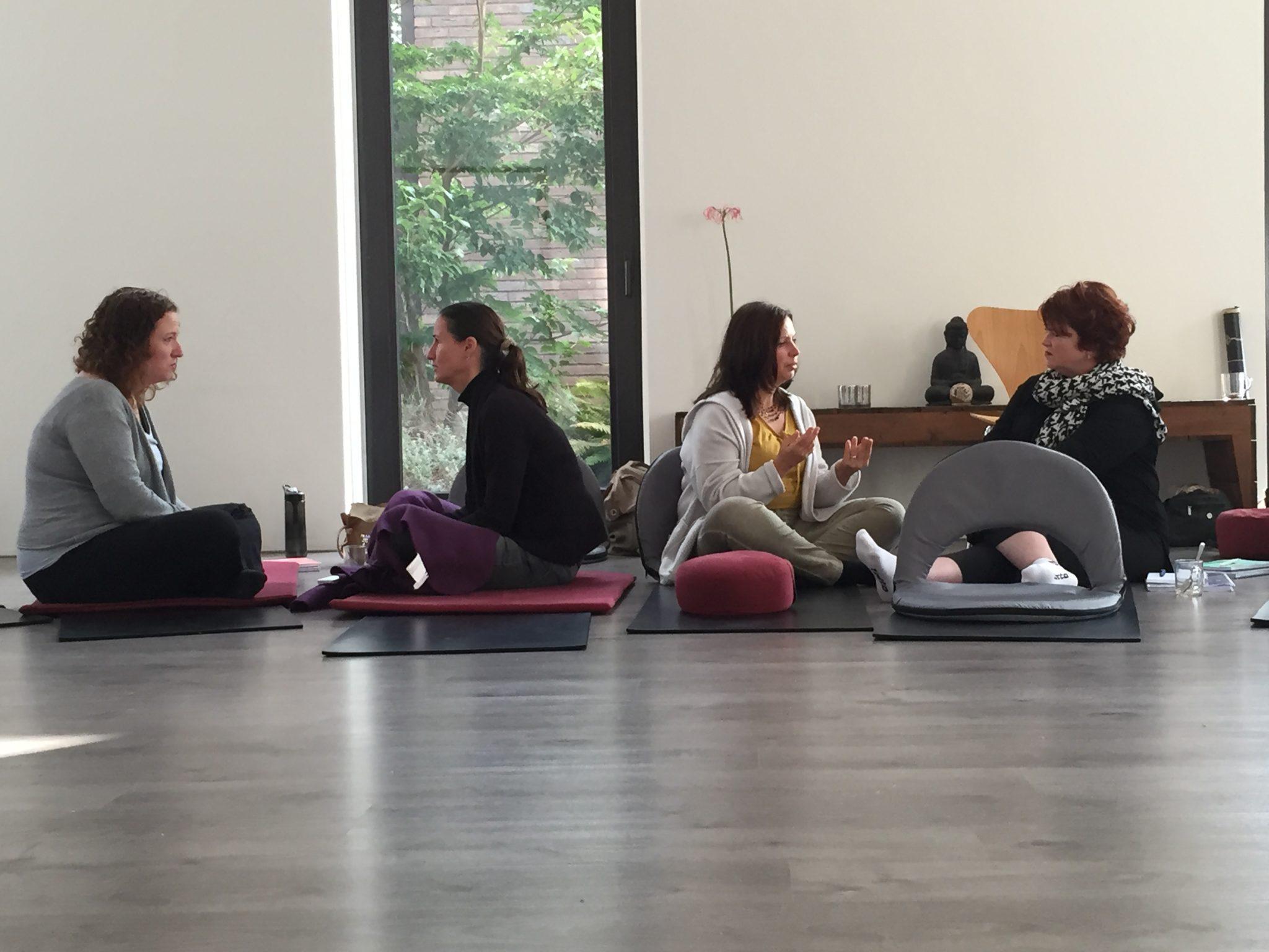 Deelnemers Opleiding Mindfulness en Compassie Coach en Trainer