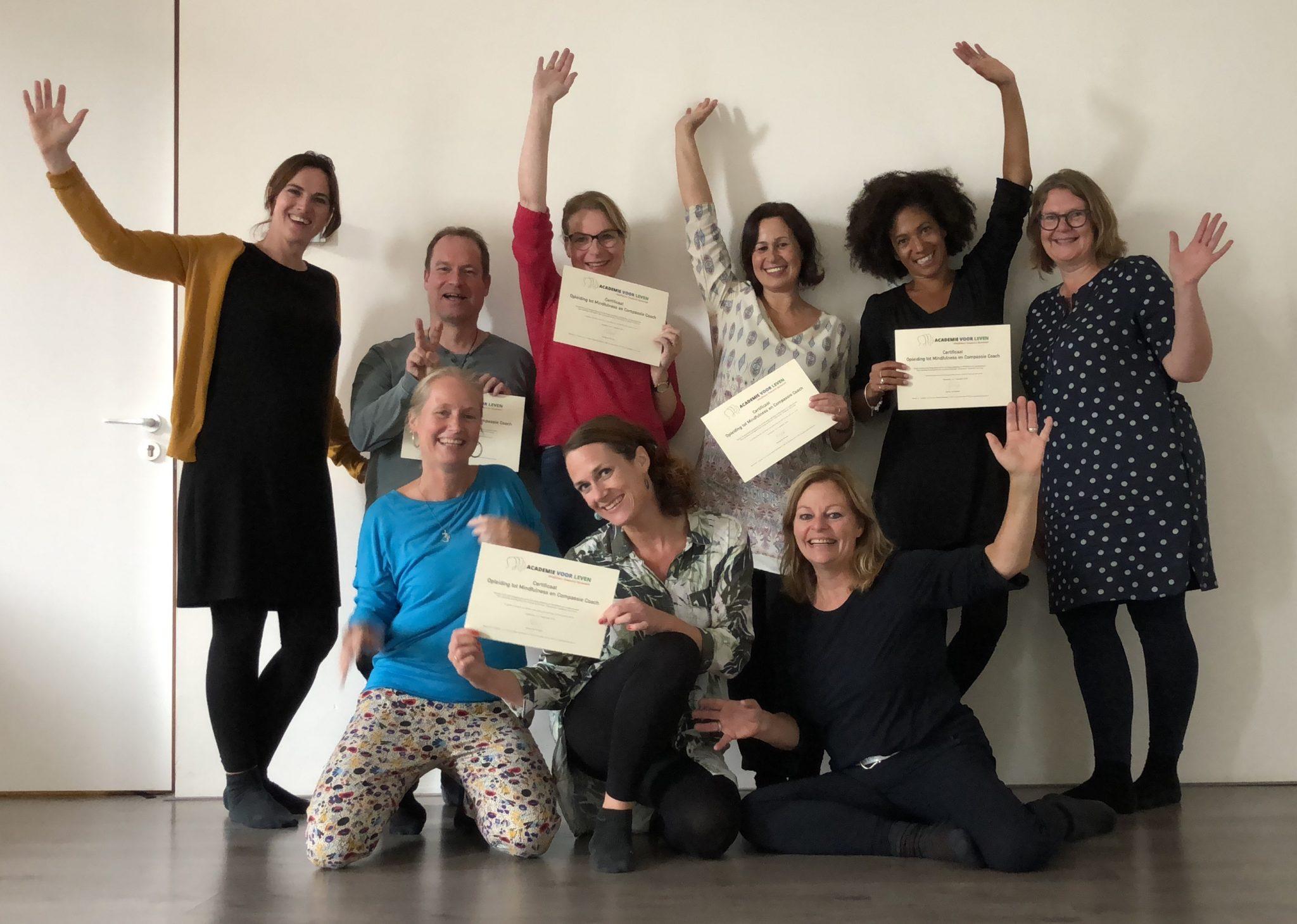 Jaar groep Opleiding Mindfulness en Compassie Coach en Trainer