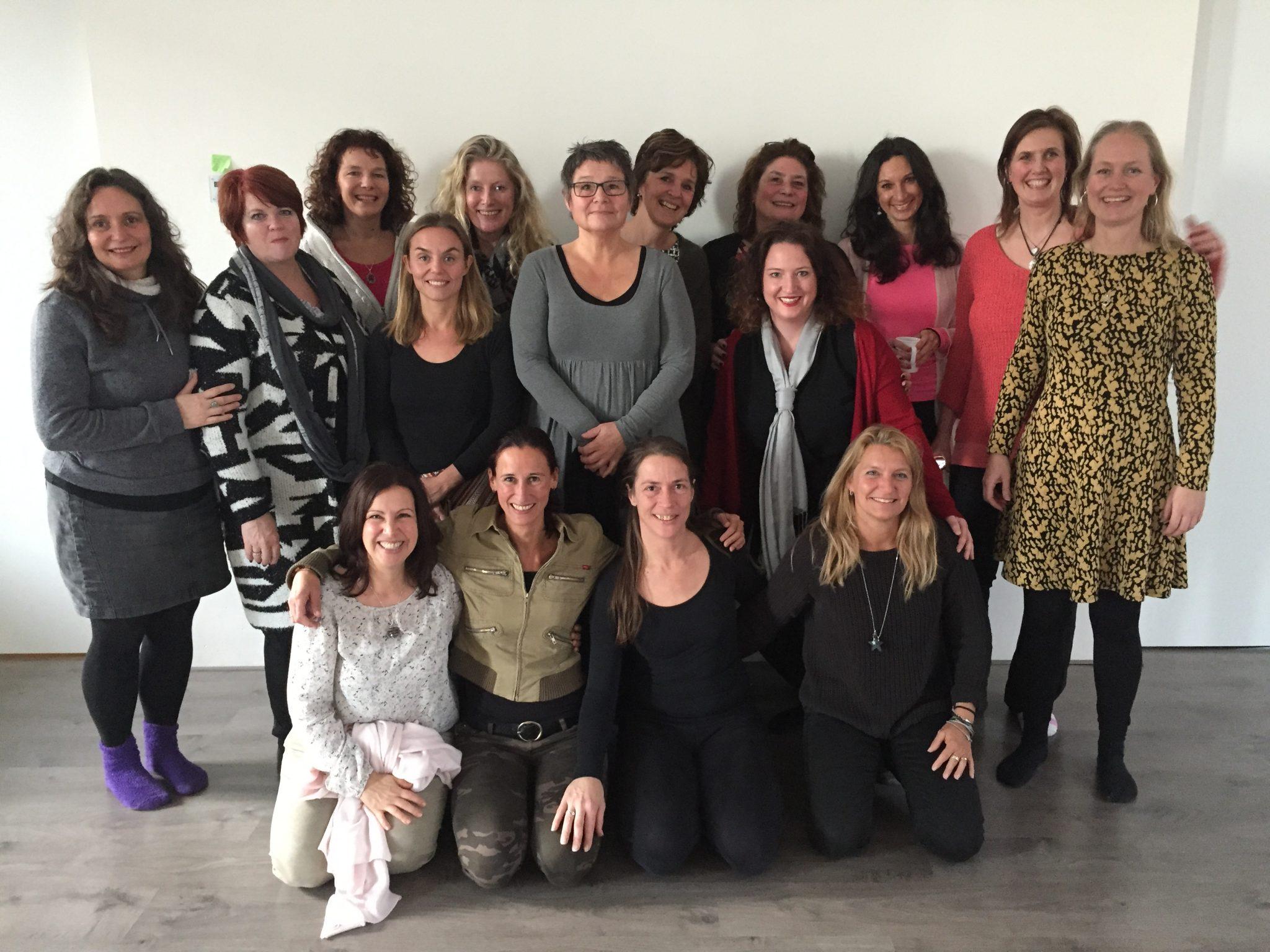 Deelnemers van de Opleiding Mindfulness en Compassie Coach en Trainer